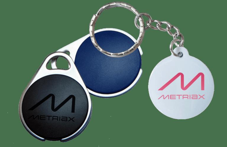 Metriax-Keyfobs-RFID-NFC-Schlüsselanhänger