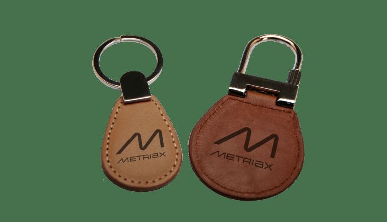 Leder-RFID-NFC-Keyfob-Metriax
